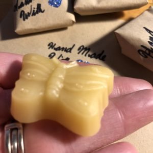 100 % Canadian Bees Wax Butterfly shaped thread conditioners. Hand made by Alicia