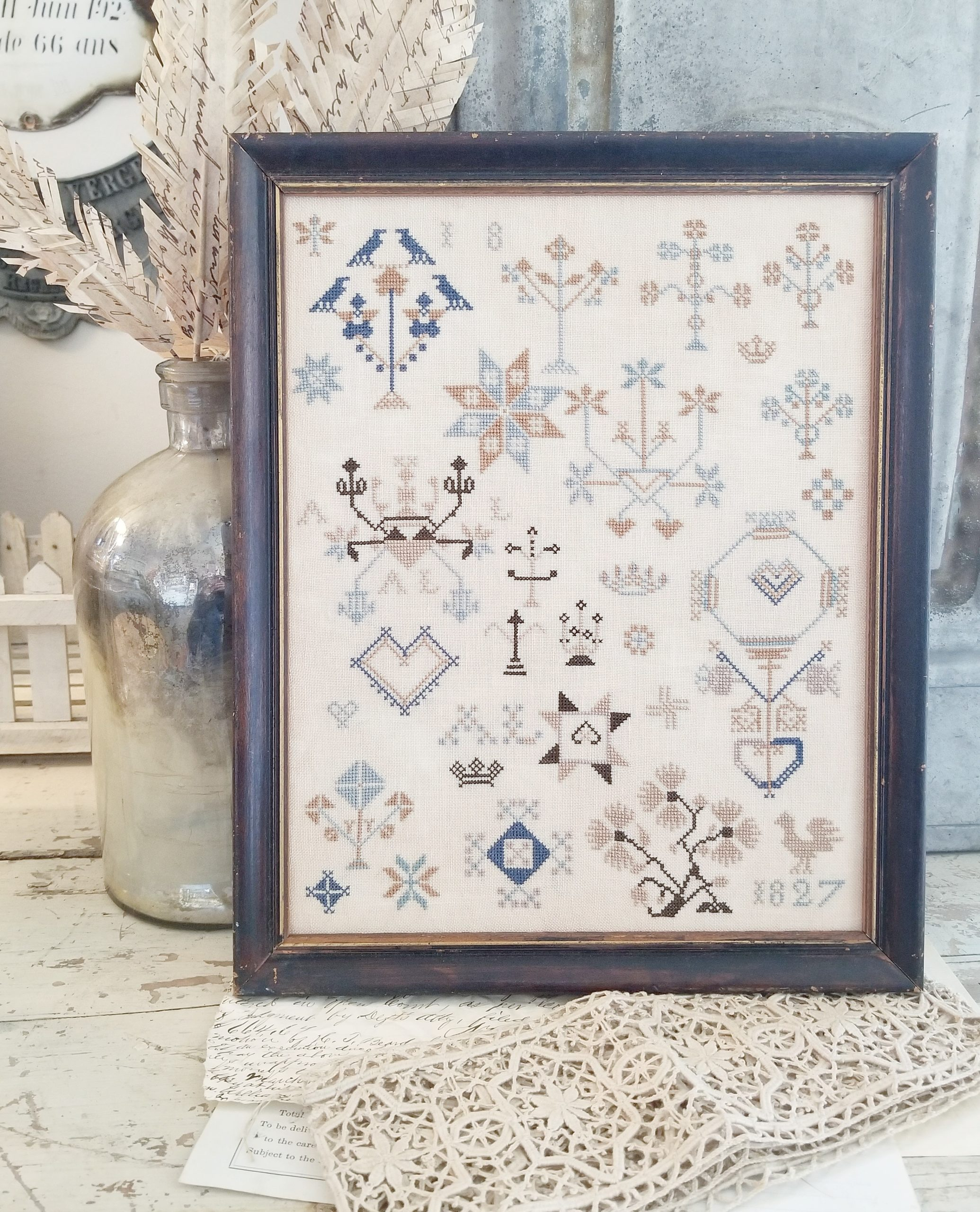 A.L. Motif Sampler - Liz Mathews