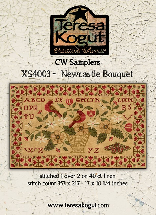 CW Samplers - Newcastle Bouquet - Teresa Kogut