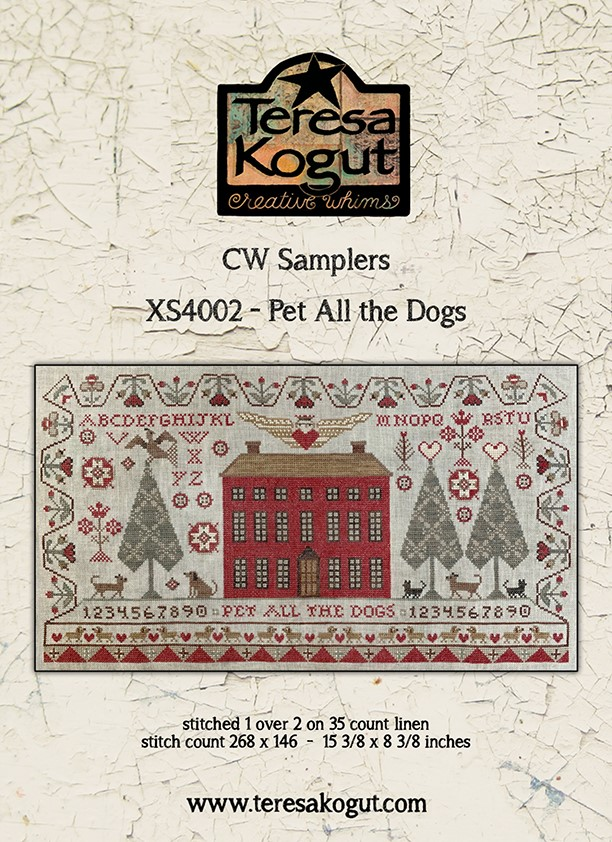 CW Samplers - Pet All The Dogs - Teresa Kogut