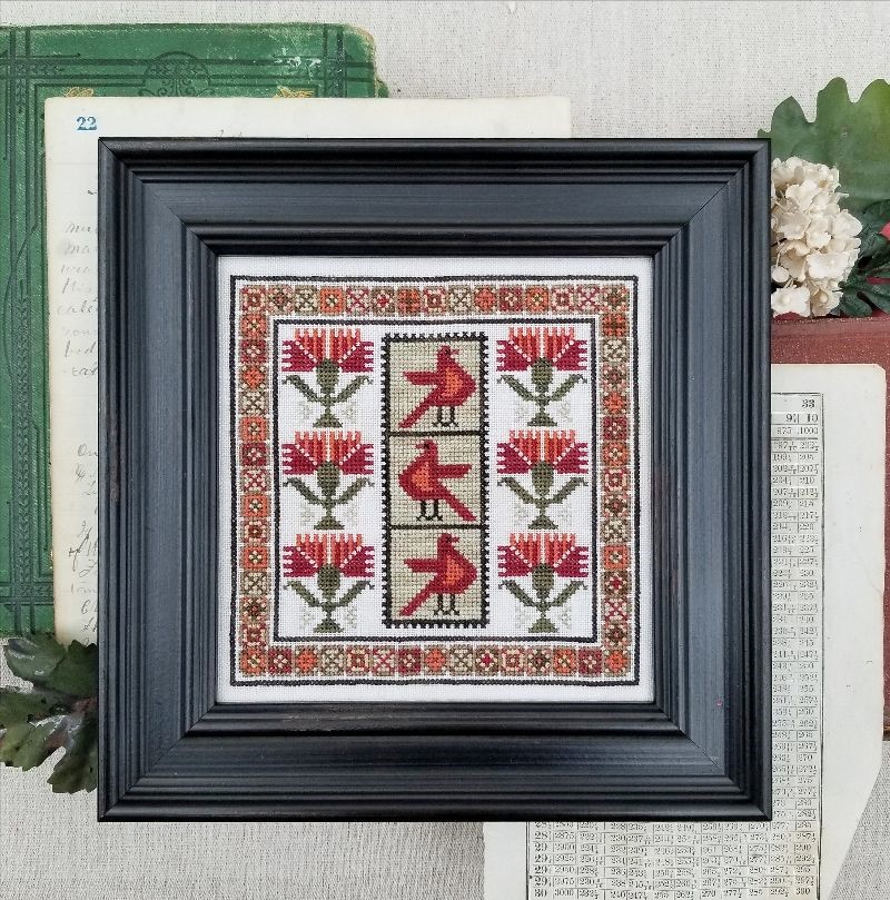 Carnation Sampler - Liz Mathews