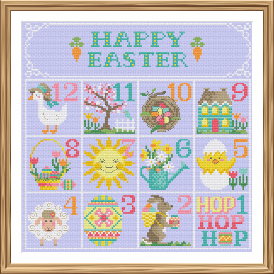 Easter Calendar - Tiny Modernist