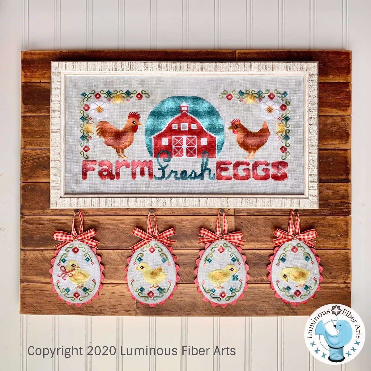 Farm Fresh Eggs - Luminous Fiber Arts