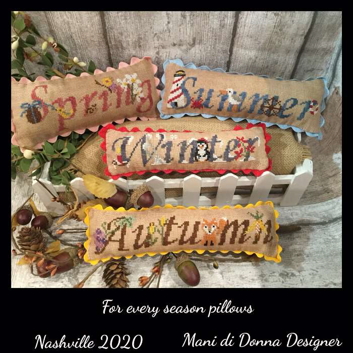 For Every Season Pillows - Mani di Donna Designs