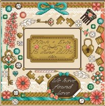 Found Love Wedding Sampler