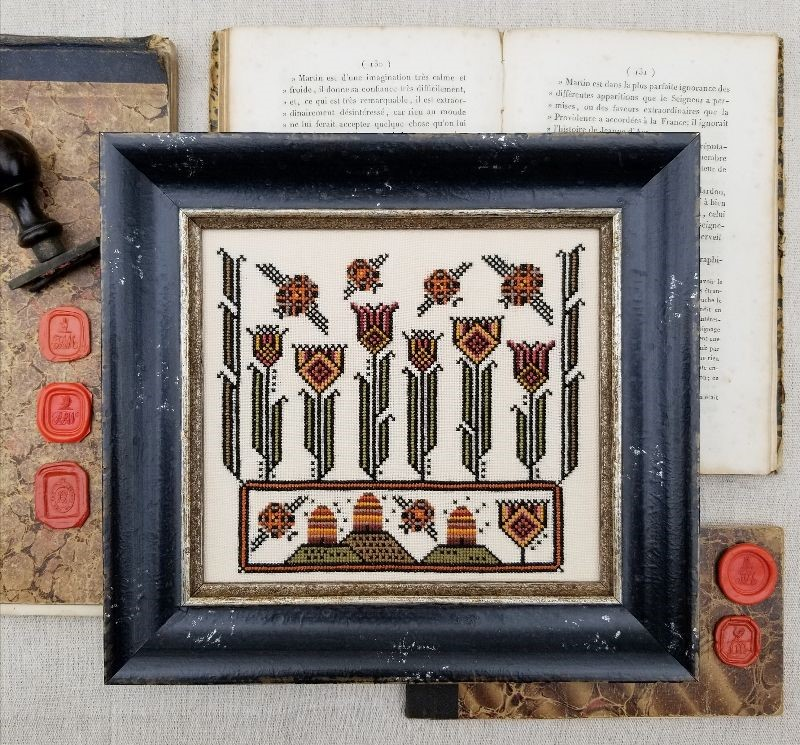 Fraktur Bees - Liz Mathews