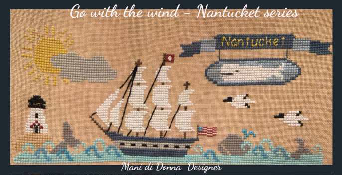 Go With The Wind - Mani di Donna Designs