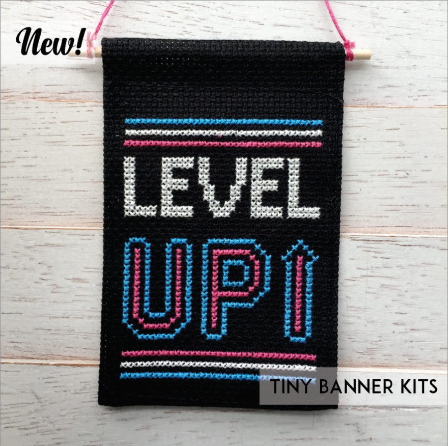 Level Up - Tiny Banner Kit - Spot Colors