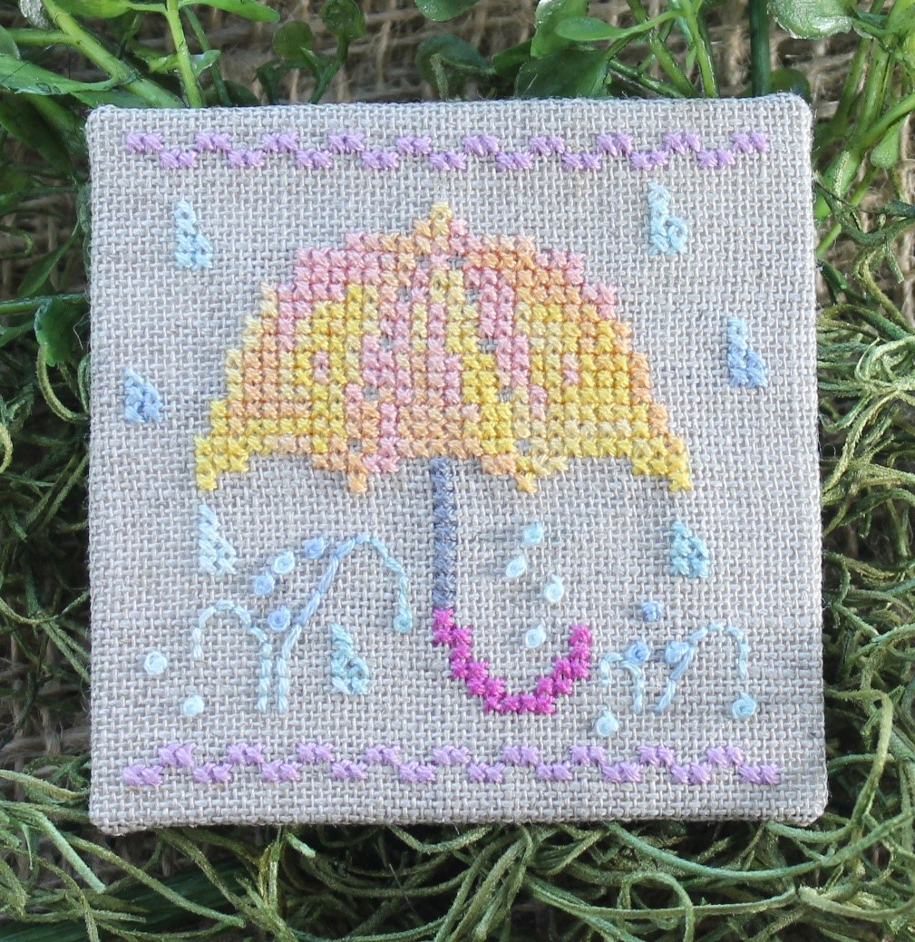 Little Spring Fling - April - Luhu Stitches