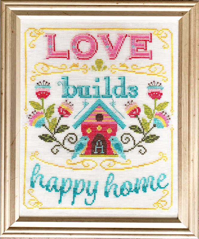 Love Builds a Happy Home - Tiny Modernist