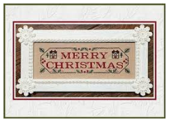 Merry Christmas - Country Cottage Needleworks