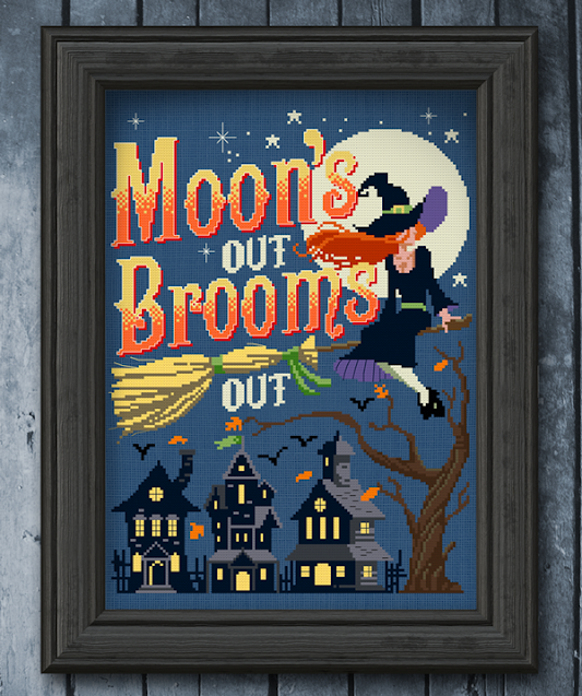 Moons Out, Brooms Out - Autumn Lane