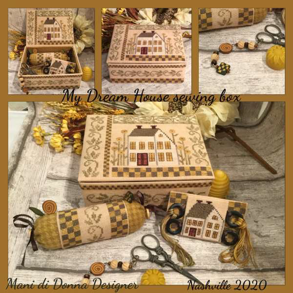 My Dream House Sewing Set - Mani di Donna Designs