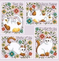 Playful Kitty Cards