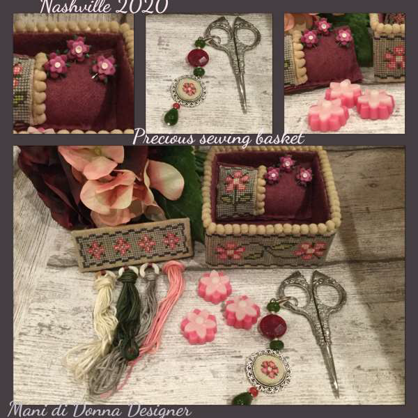 Precious Sewing Basket - Mani di Donna Designs