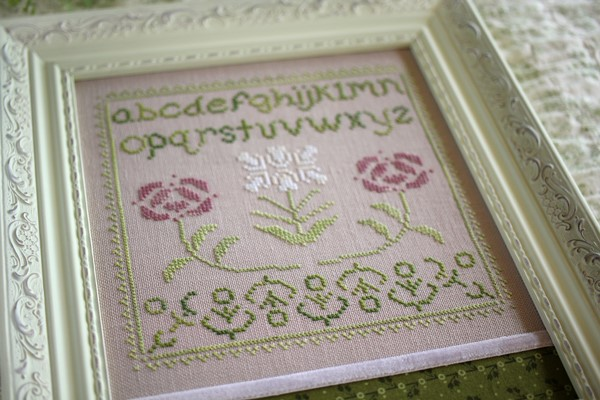 Rosamonde Sampler - October House Fiber Arts