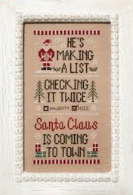 Santa's List - Country Cottage Needleworks