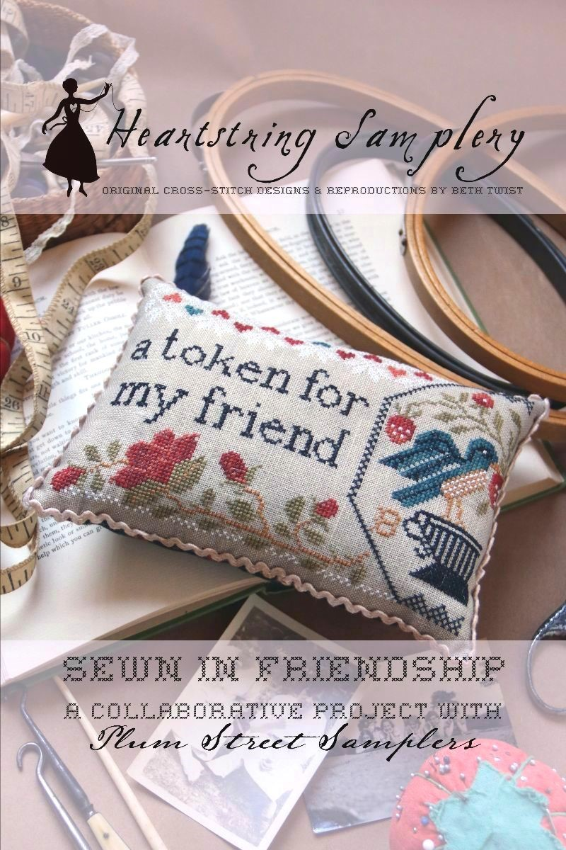 Sewn in Friendship - Heartstring Samplery Col. with Plum Street Samplers