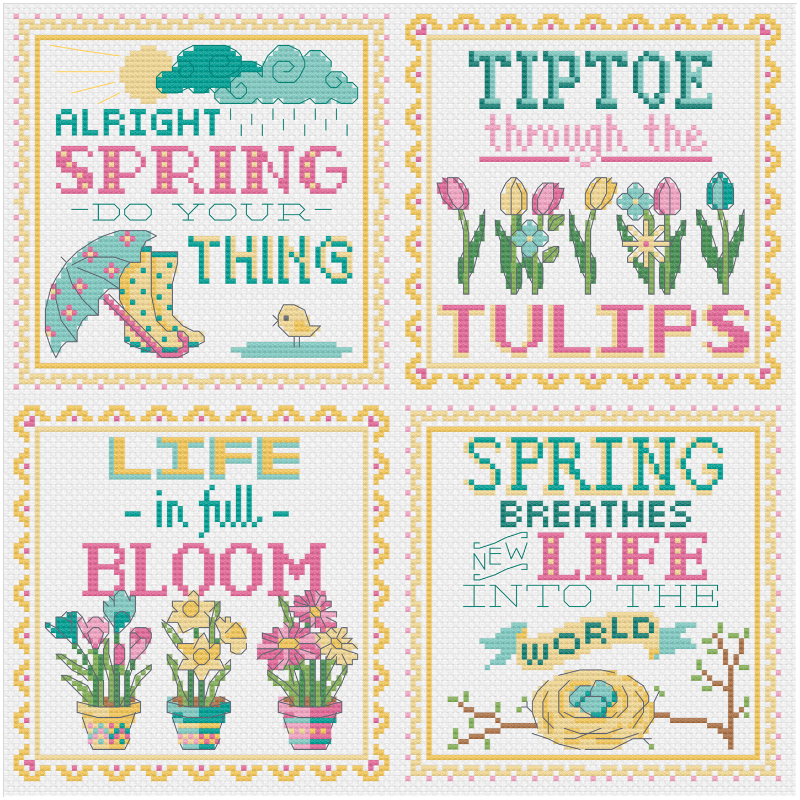 Spring Signs - Tiny Modernist