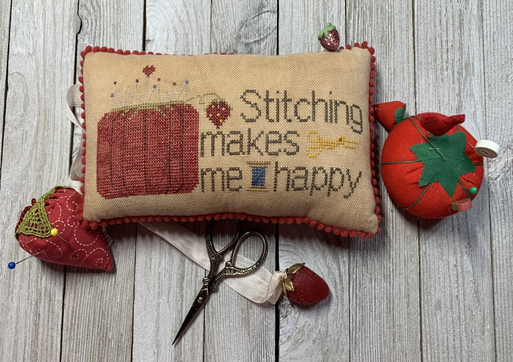 Stitching Makes Me Happy - Needle Bling Designs
