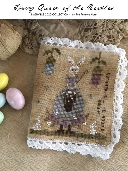 Spring Queen of the Needles - The Primitive Hare