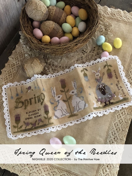 30 ct Old Salem Linen - The Primitive Hare