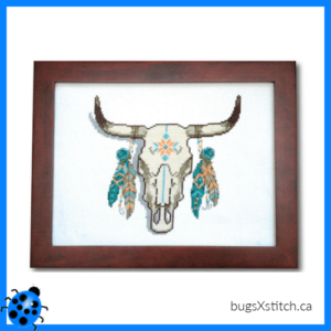 Decorated Cow Skull