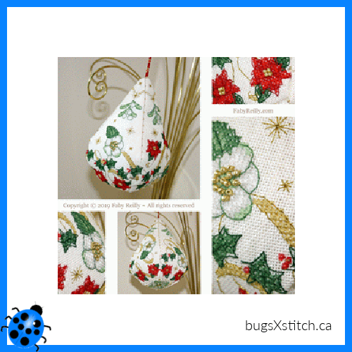 Sparkly Christmas Pendeloque