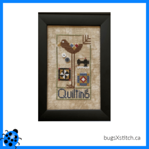 Wee One: Quilting Bird