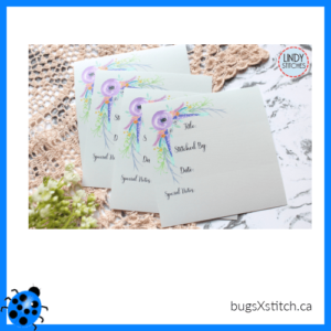 Spring Flowers Sticker Plates