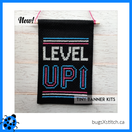 Level Up - Tiny Banner Kit