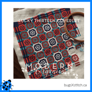 Lucky Thirteen Coverlet